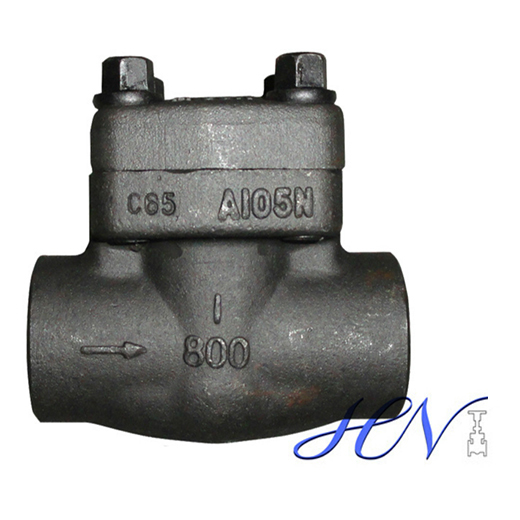 Drain Forged Steel Socket Welding Spring Loaded Piston Check Valve