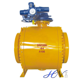 Big Size Electric Operated Forged Steel Trunnion Ball Valve