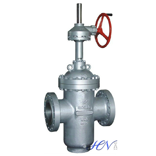 Gear Operated Cast Steel Parallel Slide Gate Valve Isolation