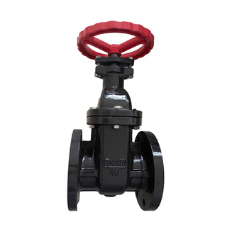 Flanged Cast Iron Water Manual Gate Valve