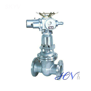 Motorized Carbon Steel Flexible Wedge Gate Valve