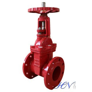 Rising Stem Flanged Cast Iron Water Gate Valve