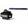 Forged Steel ASTM A105 Socket Welded Floating Ball Valve