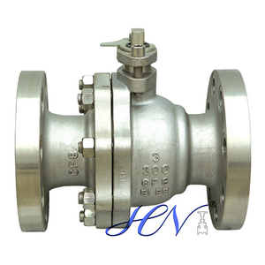 Manual SS CF8 Flanged Floating Ball Valve