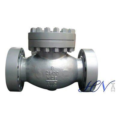 High Pressure Flanged Carbon Steel Top Entry Swing Check Valve
