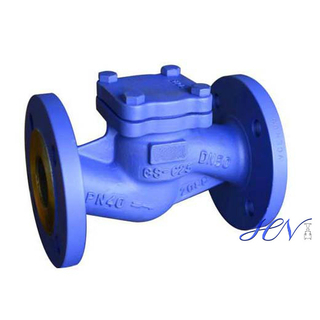 DIN Carbon Steel Spring Flanged Lift Check Valve