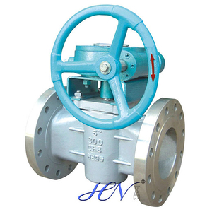 Stainless Steel Gear Operated Sleeved Plug Valve