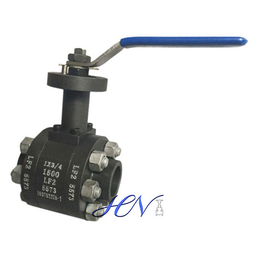 Low Temperature Stem Extended Forged Steel Floating Ball Valve