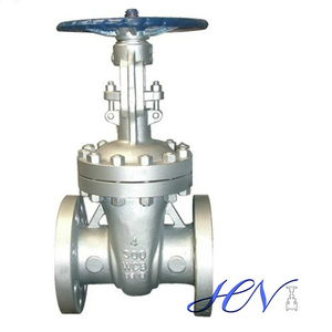 Manual Flanged Cast Steel Water Flexible Wedge Gate Valve