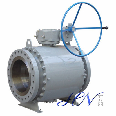 High Pressure Side Entry Forged Trunnion Mounted Ball Valve