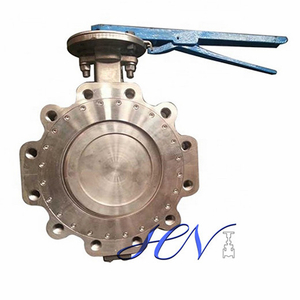 Wrench Operated Lug Type Double Eccentric Butterfly Valve