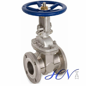 Carbon Steel Water Flanged Disc Manual Operated Gate Valve
