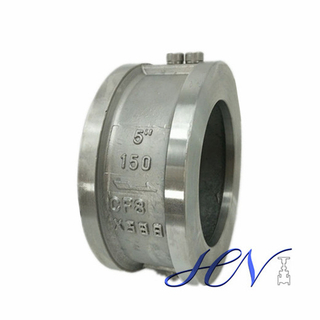 Industrial Stainless Steel Backflow Prevention Dual Plate Wafer Check Valve