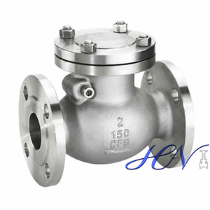 Fuel Pump Stainless Steel Flanged Low Pressure Swing Check Valve