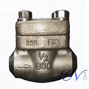 API 602 Forged Steel Butt Welding Ends Backflow Prevention Lift Check Valve