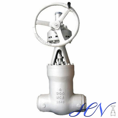 Pressure Seal Bonnet Carbon Steel High Pressure Gear Operated Gate Valve