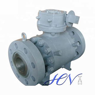 Carbon Steel Side Entry Forged Trunnion Mounted Ball Valve