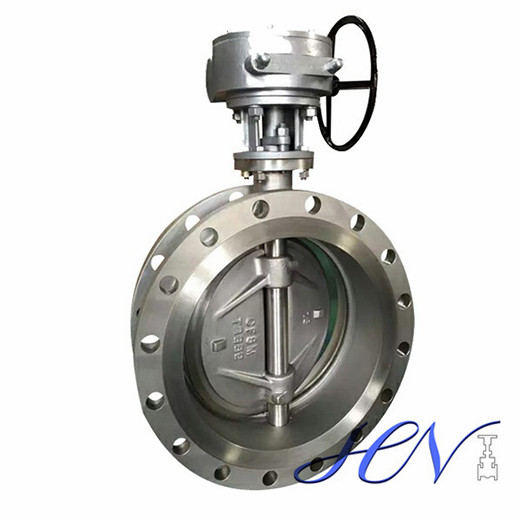 Metal Seated Flange Type Flow Control Triple Eccentric Butterfly Valve