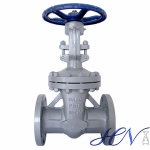 DIN Standard Cast Steel Flanged Flexible Wedge Gate Valve