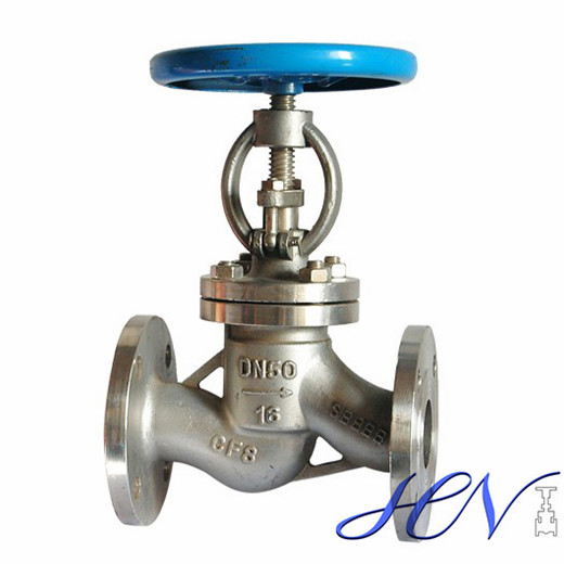 Manual Stainless Steel Gas Flanged Globe Valve