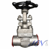 Central Heating Industrial Socket Welded Stainless Steel Forged Gate Valve