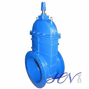 Resilient Seated Flanged Manual Cast Iron Water Gate Valve