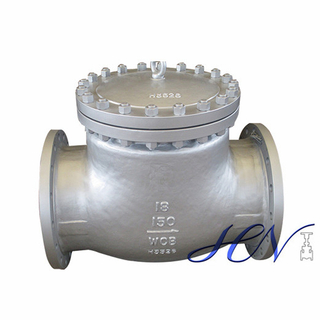 Low Pressure Horizontal Carbon Steel Flanged Swing Check Valve