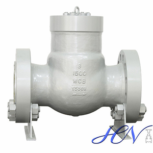 High Pressure Flanged Carbon Steel Backflow Prevention Swing Check Valve