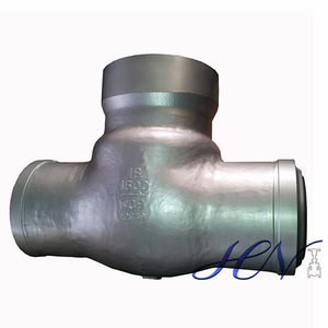 A217 WC9 High Temperature Pressure Seal Cover Swing Check Valve