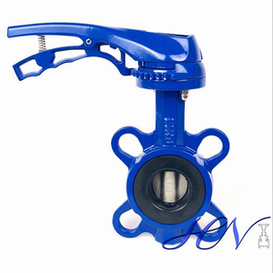 Small Size Cast Iron Wrench Operated Centric Butterfly Valve