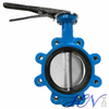 Flow Control Cast Iron Wrench Operated Lug Type Centric Butterfly Valve