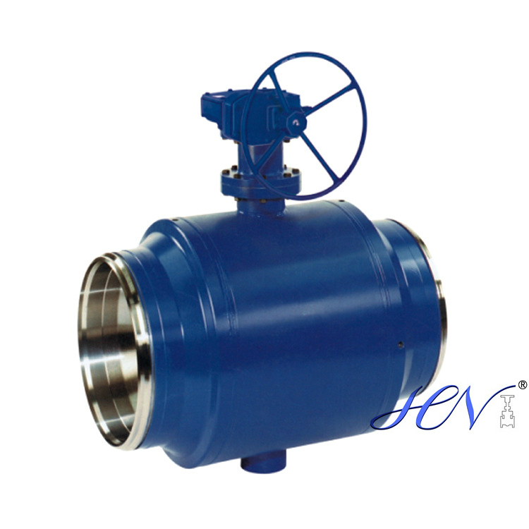 Why use a trunnion mounted ball valve
