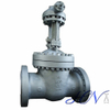 Alloy Steel High Pressure Flanged Wedge Gate Valve