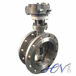 Metal Seated Double Flanged Industrial Triple Offset Butterfly Valve