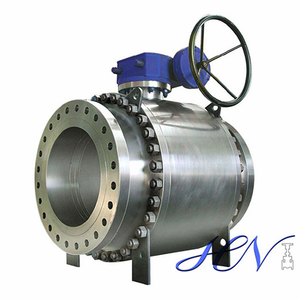 High Pressure Stainless Steel Forged Side Entry Trunnion Ball Valve Double Block Bleed