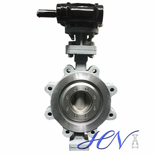 Quick Opening Carbon Steel Lug Type Triple Offset Butterfly Valve