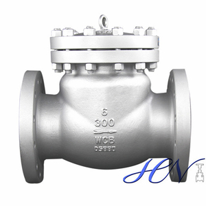 Sump Pump Flanged Carbon Steel WCB Swing Check Valve