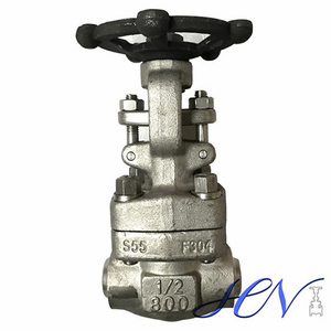 BB OS&Y Solid Stainless Steel Butt Welded Forged Gate Valve