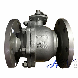 API 6D Cast Steel Flanged Floating Cold Water Tank Ball Valve