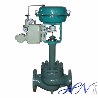 Bellow Type Pneumatic Steam Flanged Diaphragm Control Valve