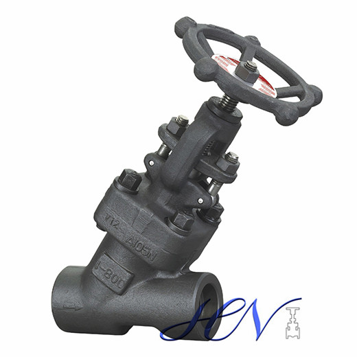 High temperature and high pressure Y type globe valve structure features