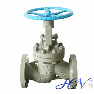 Non Return Flanged Cast Steel Industrial Manual Globe Valve